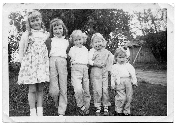 Herygers Sisters - Parkhill, Ontario, Canada (Left to Right: Corrie, Elsa, Rosa, Diana, & Selma)