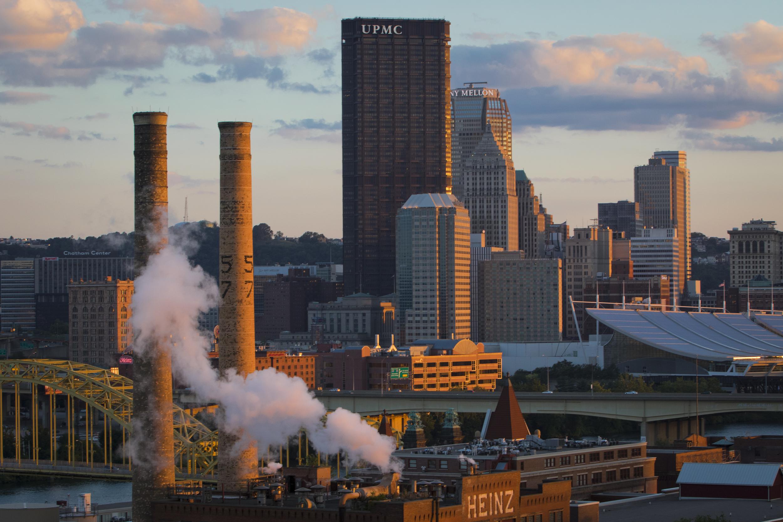 "My friend  Pittsburgh Post-Gazette  columnist Brian O'Neill calls it ""The Paris of Appalachia."""