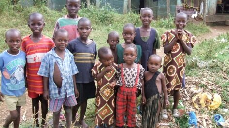 From This - Children in the town of Bondo, Kenya