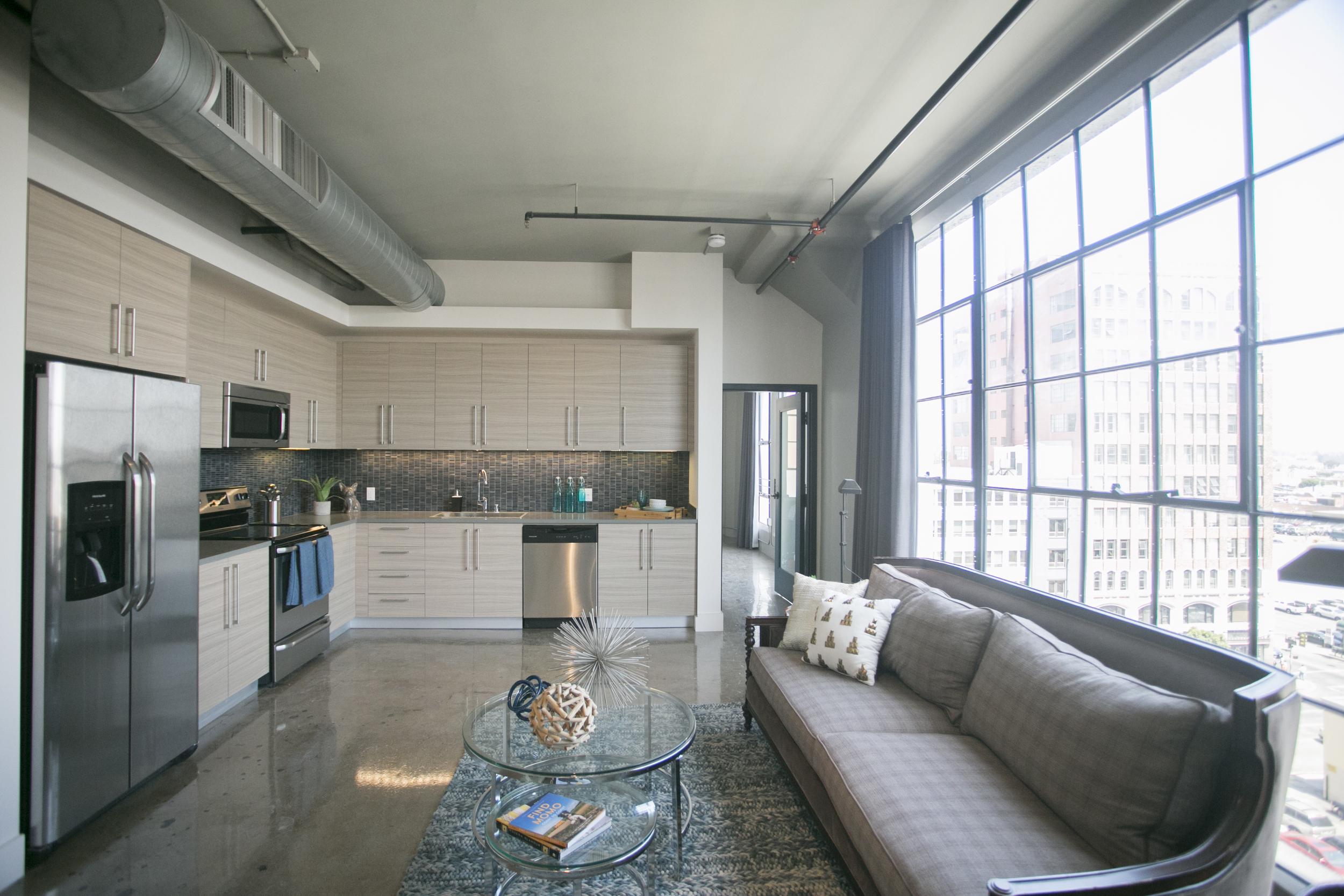 Bright Naturally Lite Living Room