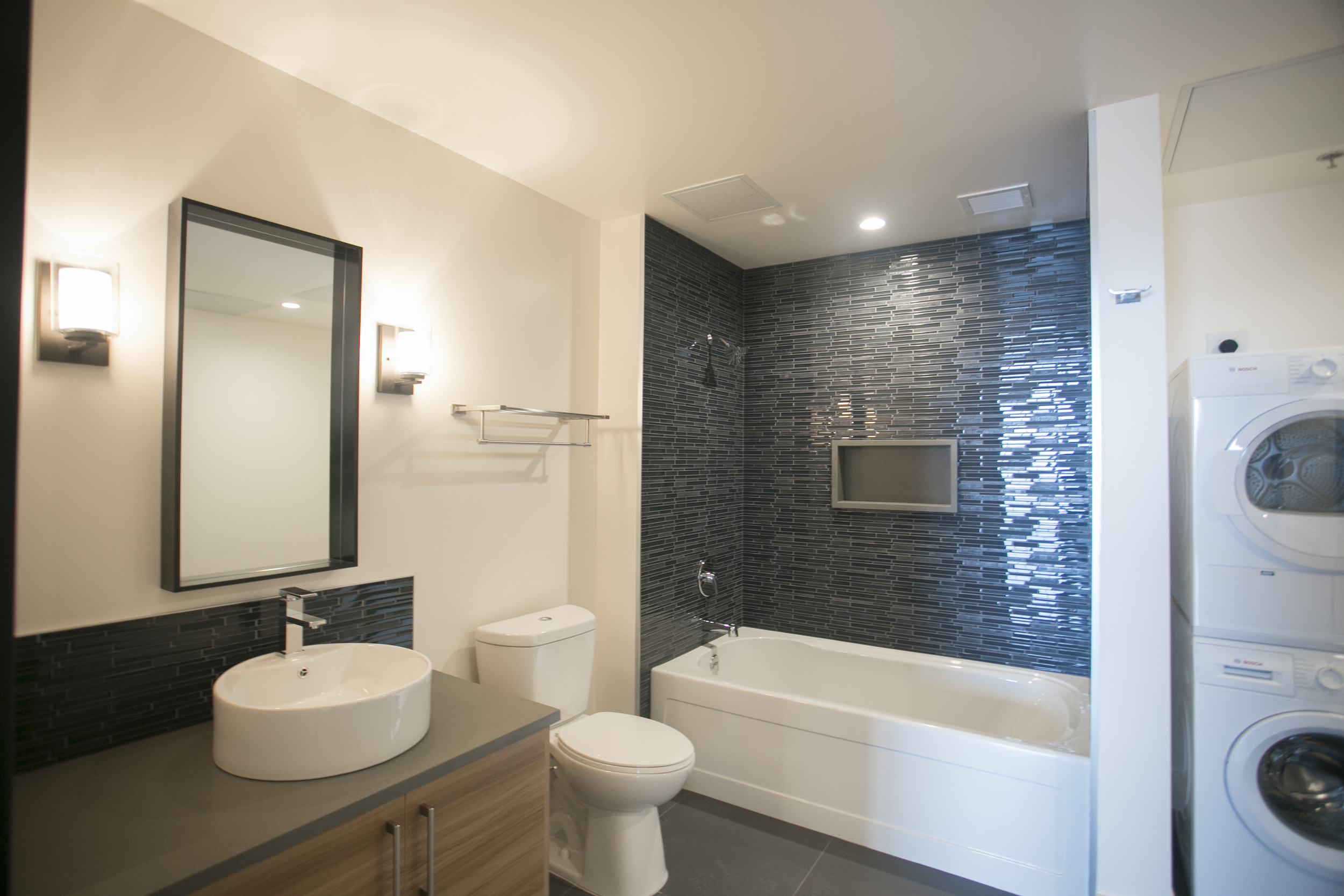 Bathroom and Private Washer and Dryer
