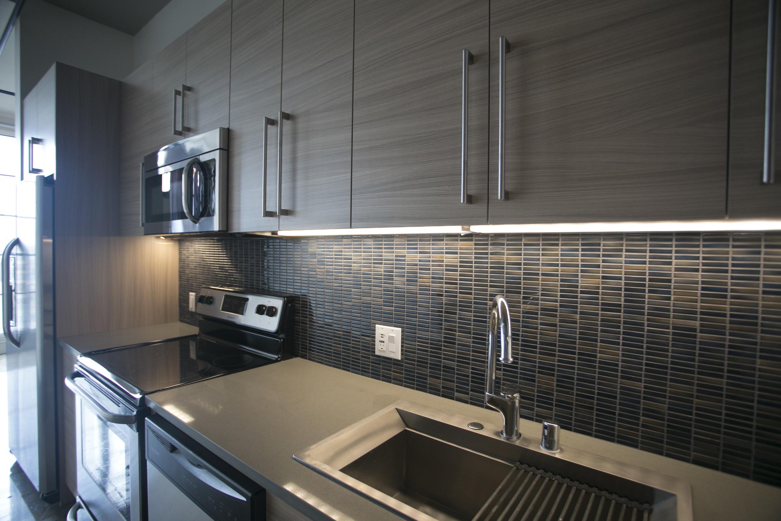 Kitchen Backsplash at Maxfield