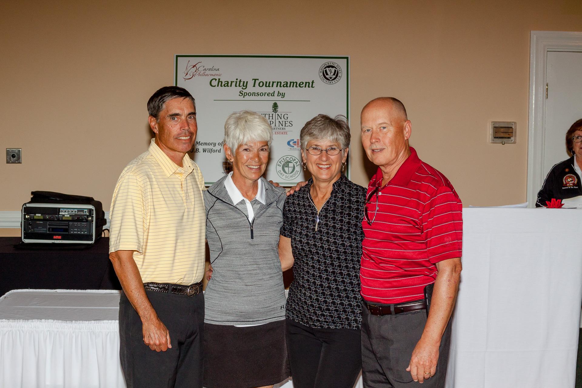 Kirk Velett, Laurie Velett, Jane Asdal and Bob Asdal were the tournament champions last year!