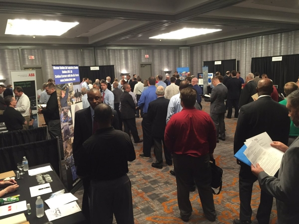 Taken at one of our recent Engineering, Technology and Security Cleared Career Fairs.