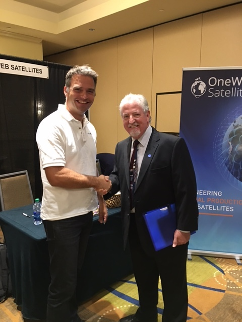 OneWeb Satellites had a successful day of hiring at our recent event in Orlando. Visit them at  www.onewebsatellites.com .
