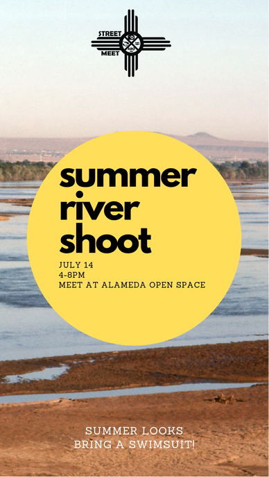 Join Us by the River! - It's summer! So we're hitting up the river for this month's meet. Bring your swimsuits, outfits and props as we bring the heat this meet!