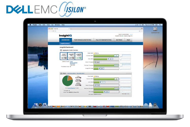 Dell/EMC Isilon Insight IQ