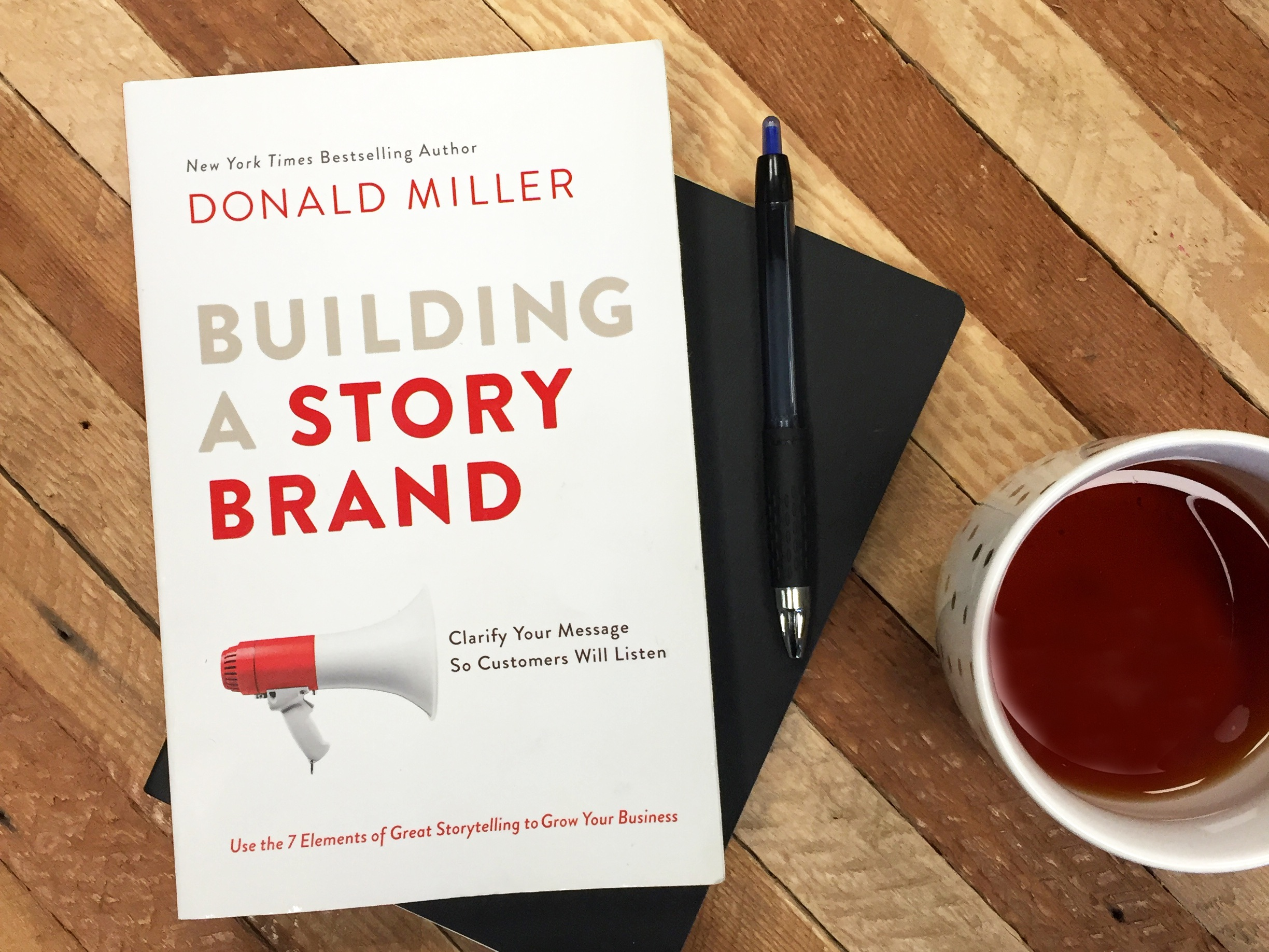 Reviewing Donald Miller's Building a Story Brand
