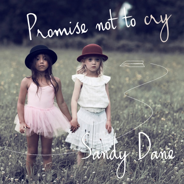 CD cover photo for singer-songwriter  Sandy Dane . Make-up artist: Marthe Neus