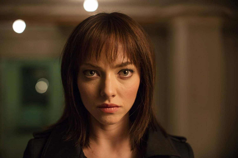 Amanda Seyfried  as 'The Girl' in  Anon (2018) .