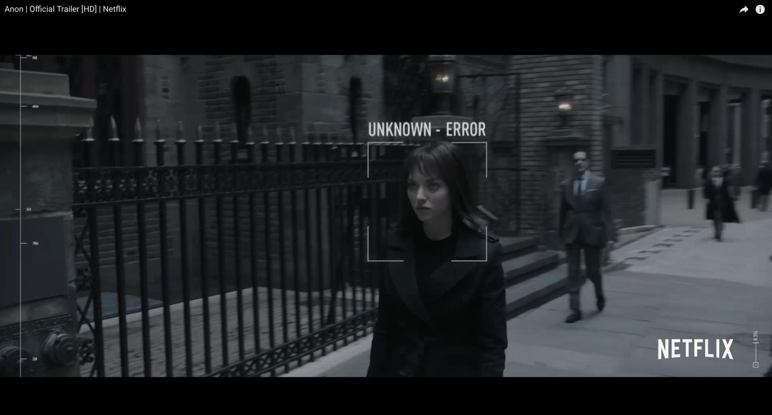 'The Girl' is an 'error' inside the system.