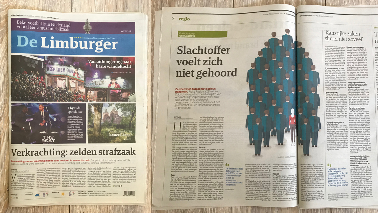 Dutch Newspaper Publishes Investigation Article About Police Failure In Exurb1a Rape Case - Read more