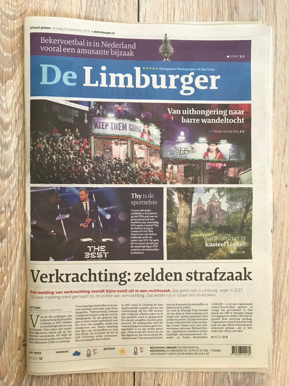 'Verkrachting: zelden strafzaak'  (Rape: rarely a criminal case) covers rape conviction statistics in my area, my court case against youtuber Exurb1a, and the police failure that happened in it.