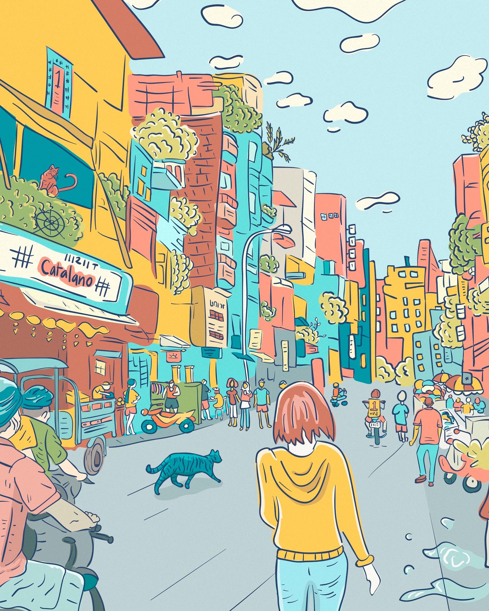 Illustration: Zara's Comics