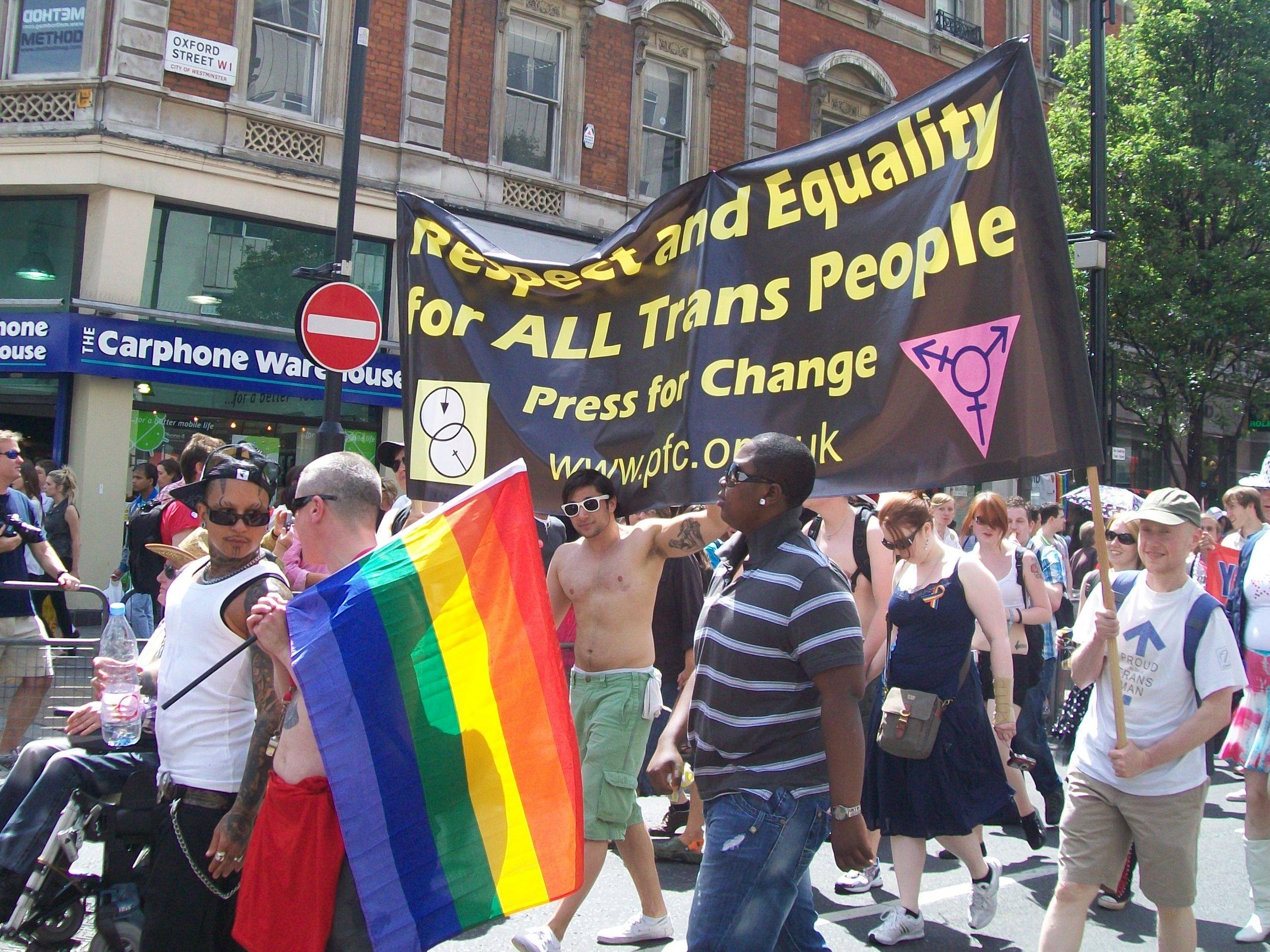 Pride London, 3 July 2010. Photo:  Wiki ,  AnemoneProjectors  ( CC BY-SA 2.0 )