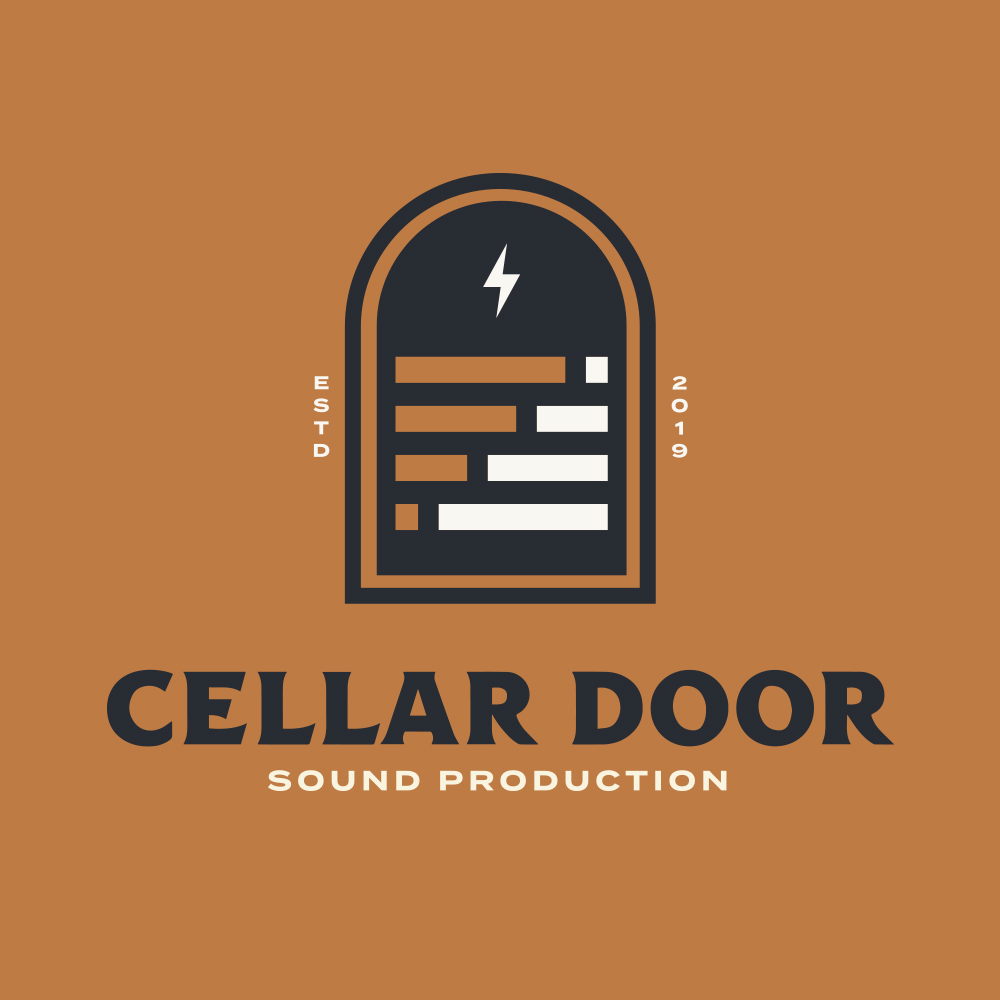 OPENING THE DOOR - When Cellar Door Sound Production reached out to us for their re-brand, it was a match immediately. We created a new brand and graphics system that spoke to the personality of the crew down the stairs and behind the door. We took a little Rock n' Roll, a little classic tattoo imagery, and some real mean lookin' typography and made our own mix to create multiple brand badges for use near and far.