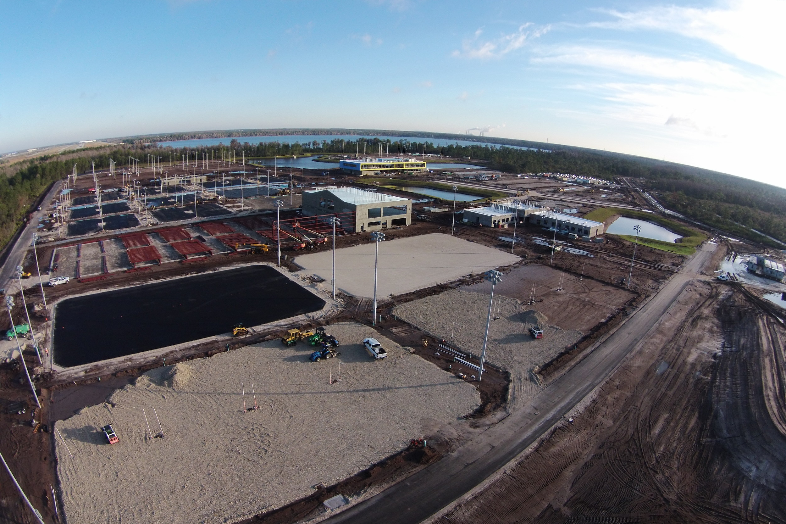 USTA New Home of American Tennis   - UNDER CONSTRUCTION