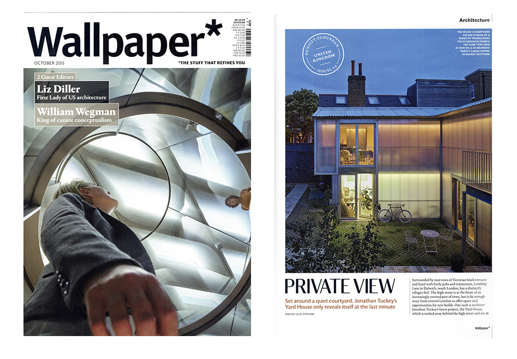 New Publication Wallpaper Magazine Uk November 2015
