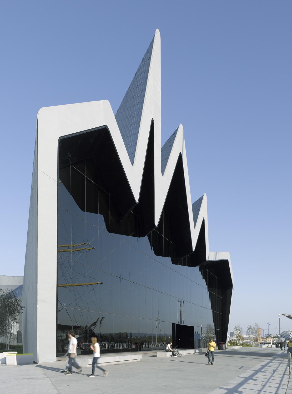 Riverside Museum,  Zaha Hadid