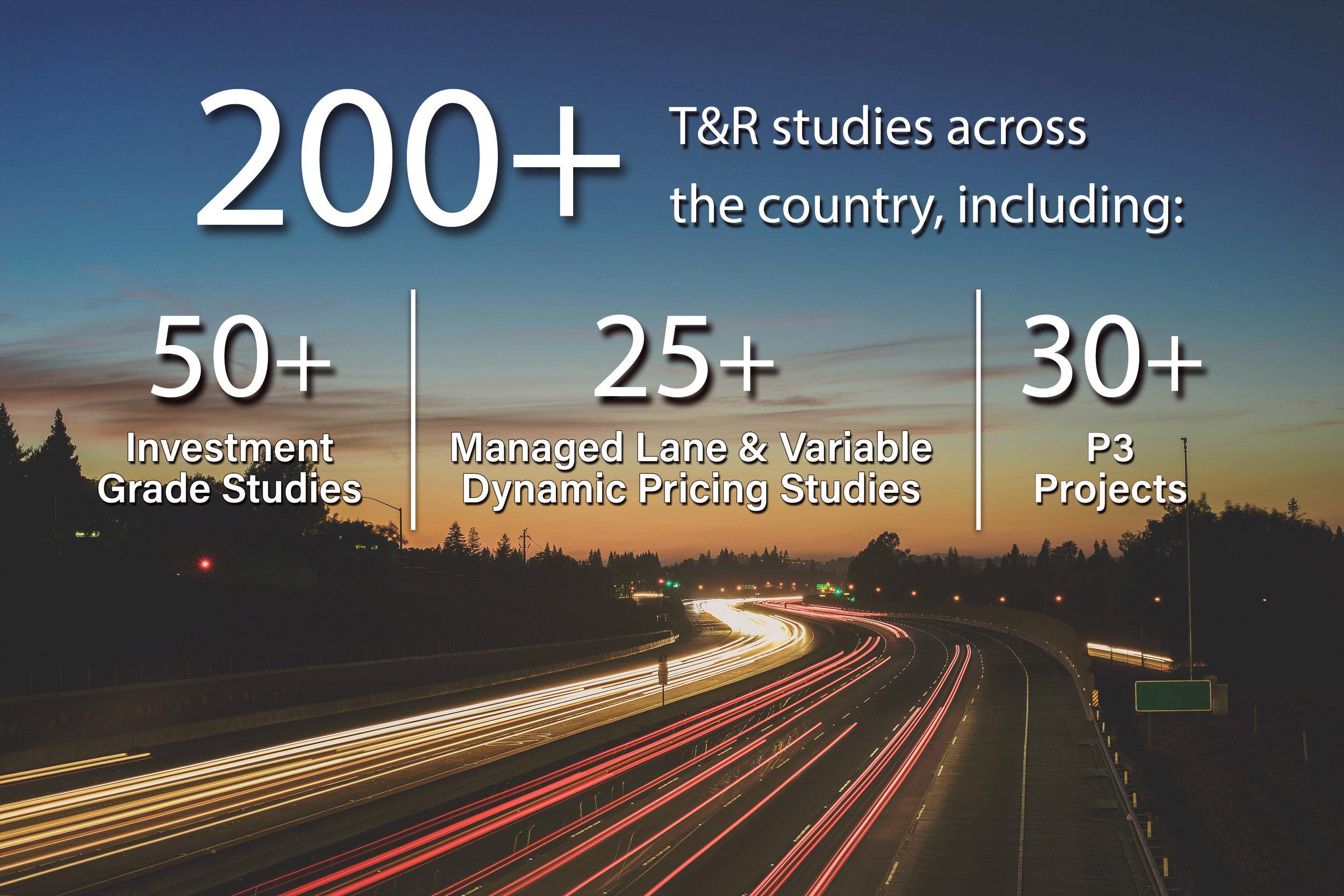 C&M Associates, Inc  — Traffic and Revenue Studies for Toll Roads