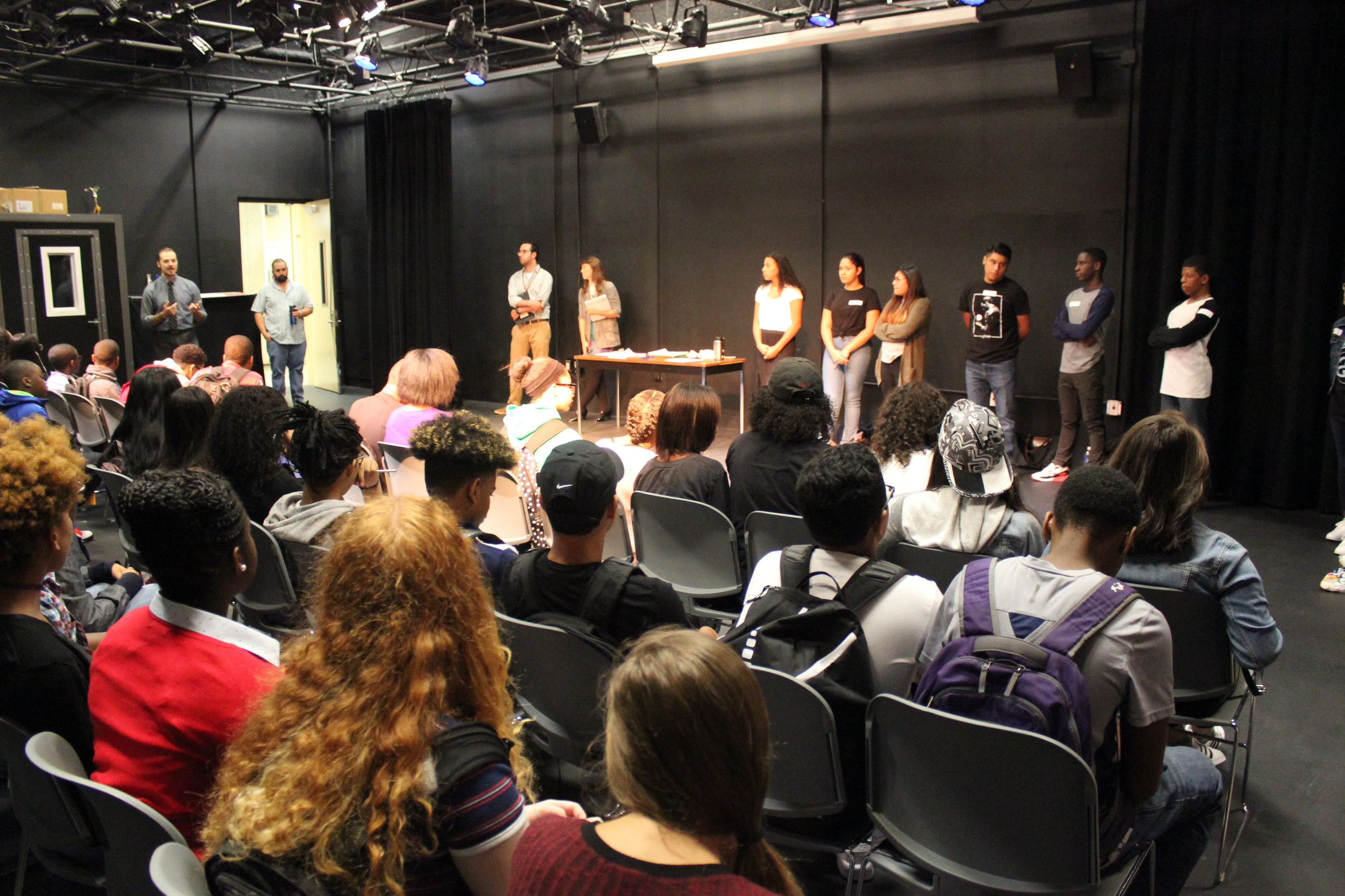 Student ambassadors introduce themselves