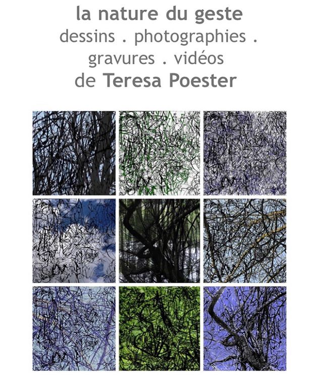 "We are very happy to announce our upcoming exhibition: ""la nature du geste"", with photographies, drawings, engravings and videos by the great Brazilian artist @teresapoester.  We thank again the partnership with the @galerie.umcebo ! . . Opening next Tuesday, April 30th, from 6 to 10pm, with projection of Teresa's videos and live piano presentation of Aurelien Richard, at 8pm.  Galerie Umcebo, 102 boulevard Diderot, Paris 12e, metro Reuilly-Diderot.  Come discover Teresa's unique technique of mixing drawing, engraving, video and photography! . . . Nous sommes très heureux de vous annoncer notre prochaine exposition: «la nature du geste», avec des photographies, des dessins, des gravures et des vidéos de l'artiste brésilienne @teresapoester. Nous remercions encore la @galerie.umcebo pour ce partenariat ! . Vernissage le mardi 30 avril de 18h à 22h, avec projection des vidéos de Teresa accompagnée au piano par Aurélien Richard, à 20h . Galerie Umcebo, 102 boulevard Diderot, Paris 12e, métro Reuilly-Diderot. . Venez nombreux découvrir la technique unique de Teresa consistant à mélanger dessin, gravure, vidéo et photographie! . . . #periferiaprojects #periferiaparis #teresapoester #drawing #photography #engraving #video #contemporaryart #artcontemporain #photographie"