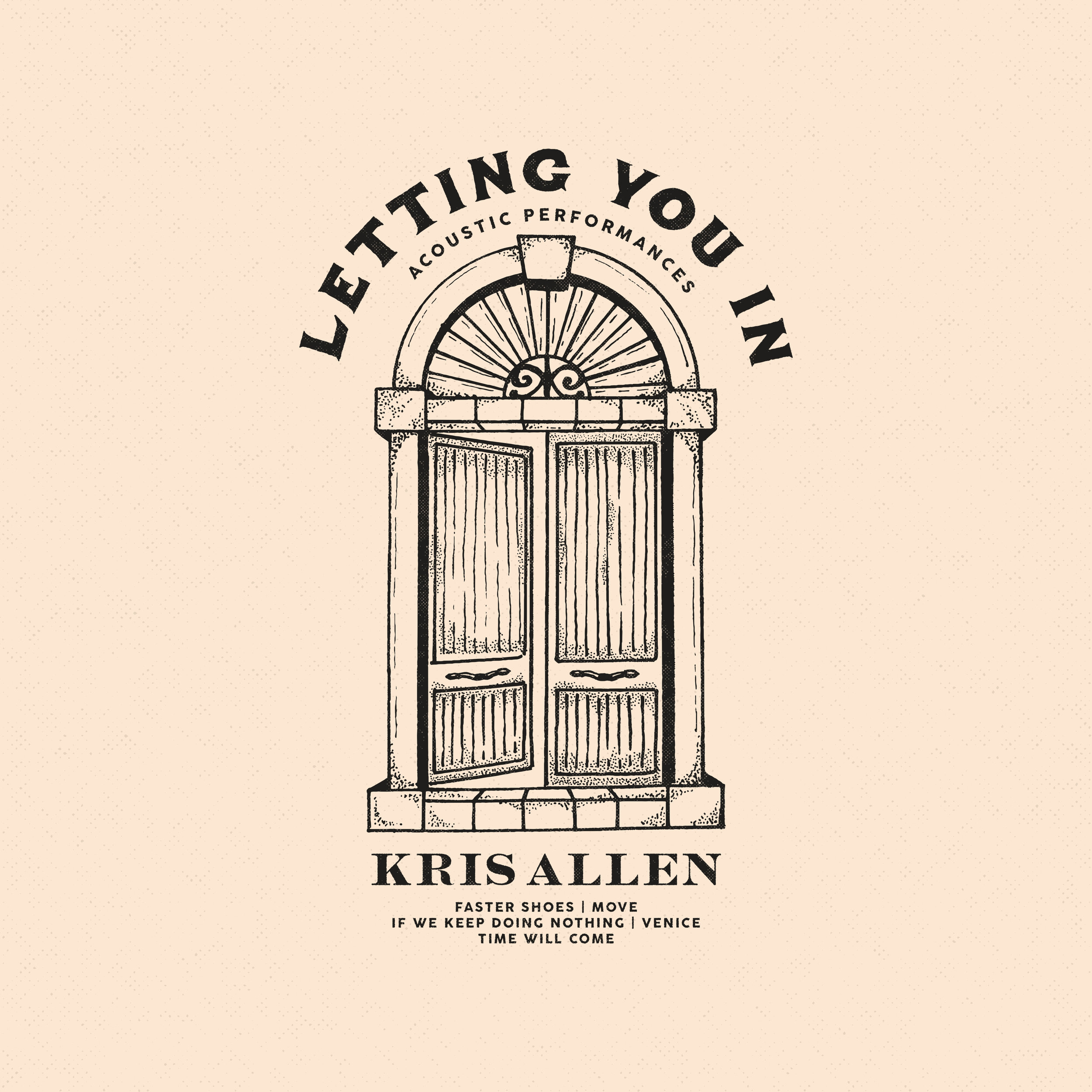 Kris Allen - Letting You In - Acoustic
