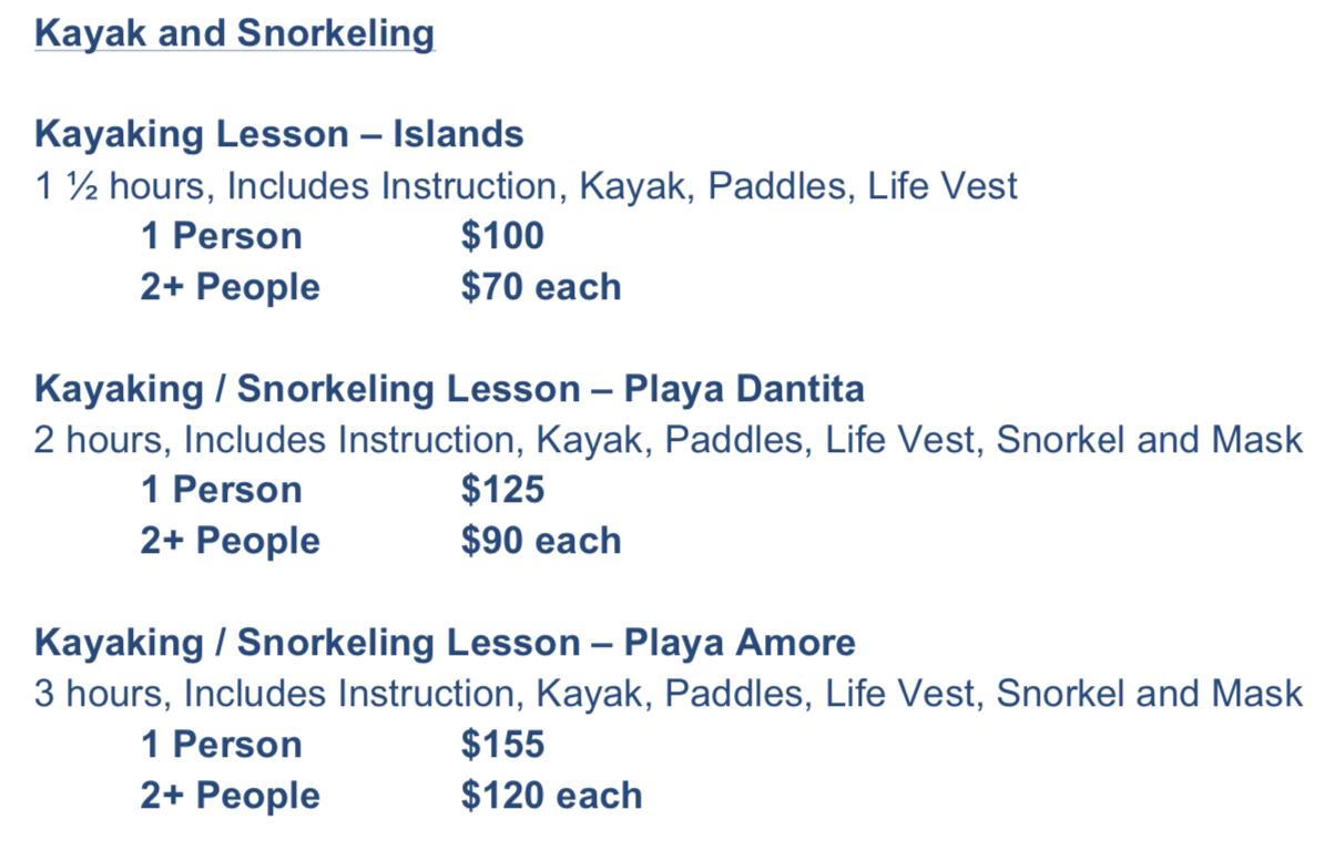 Kayak Snorkel Rates.png