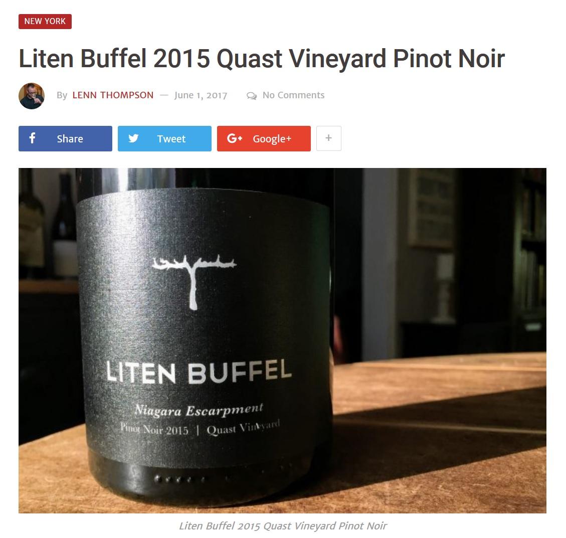 NYCR - Liten Buffel 2015 Quast Vineyard Pinot Noir.jpg