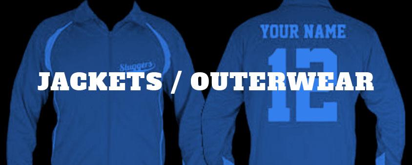 click to view customizable team jackets, fleece jackets, coats, etc.
