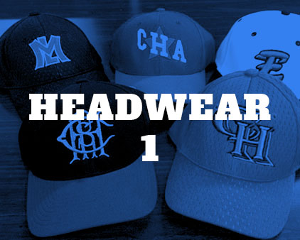 click to view customizable hats.