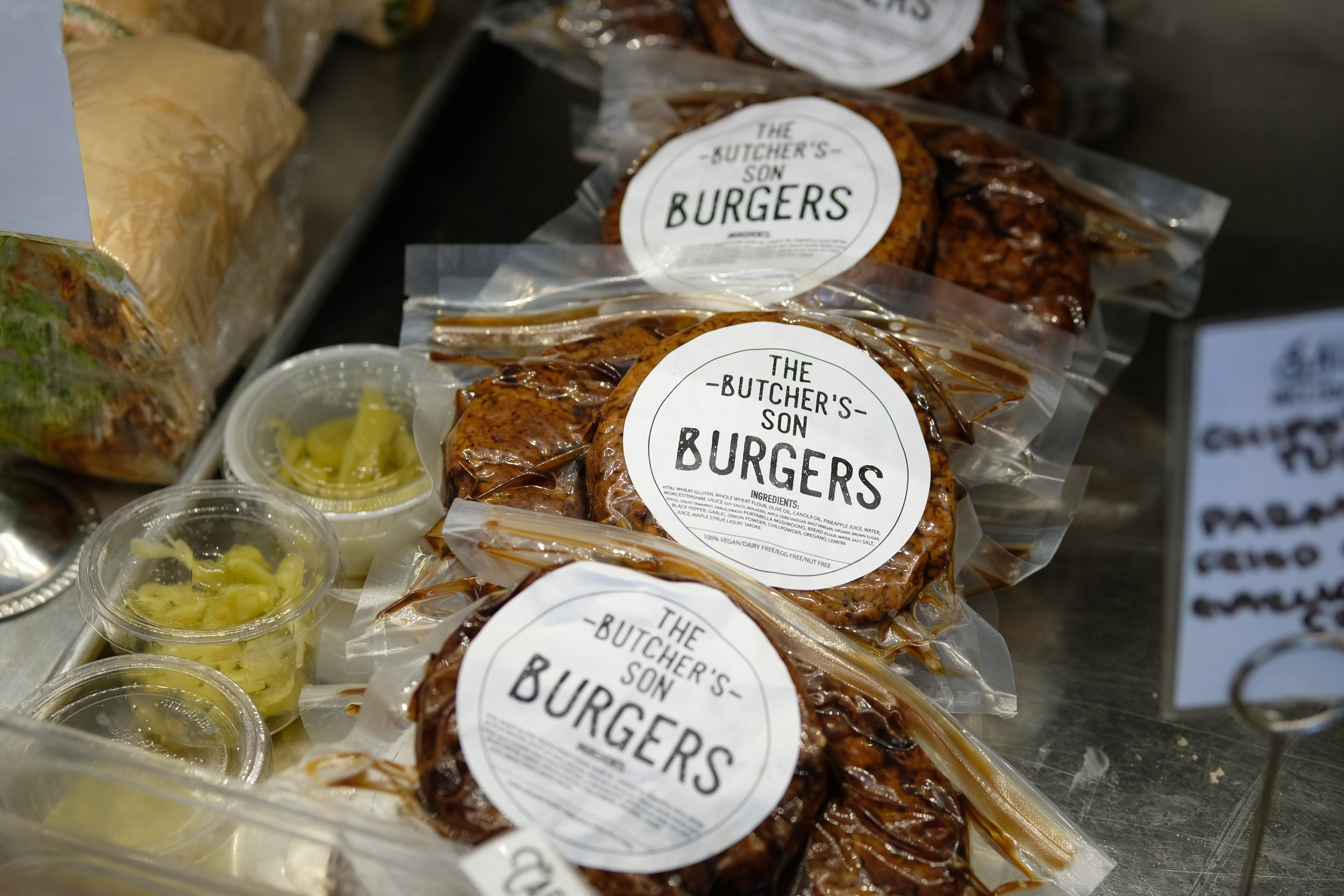 Burger patties for sale in our Market