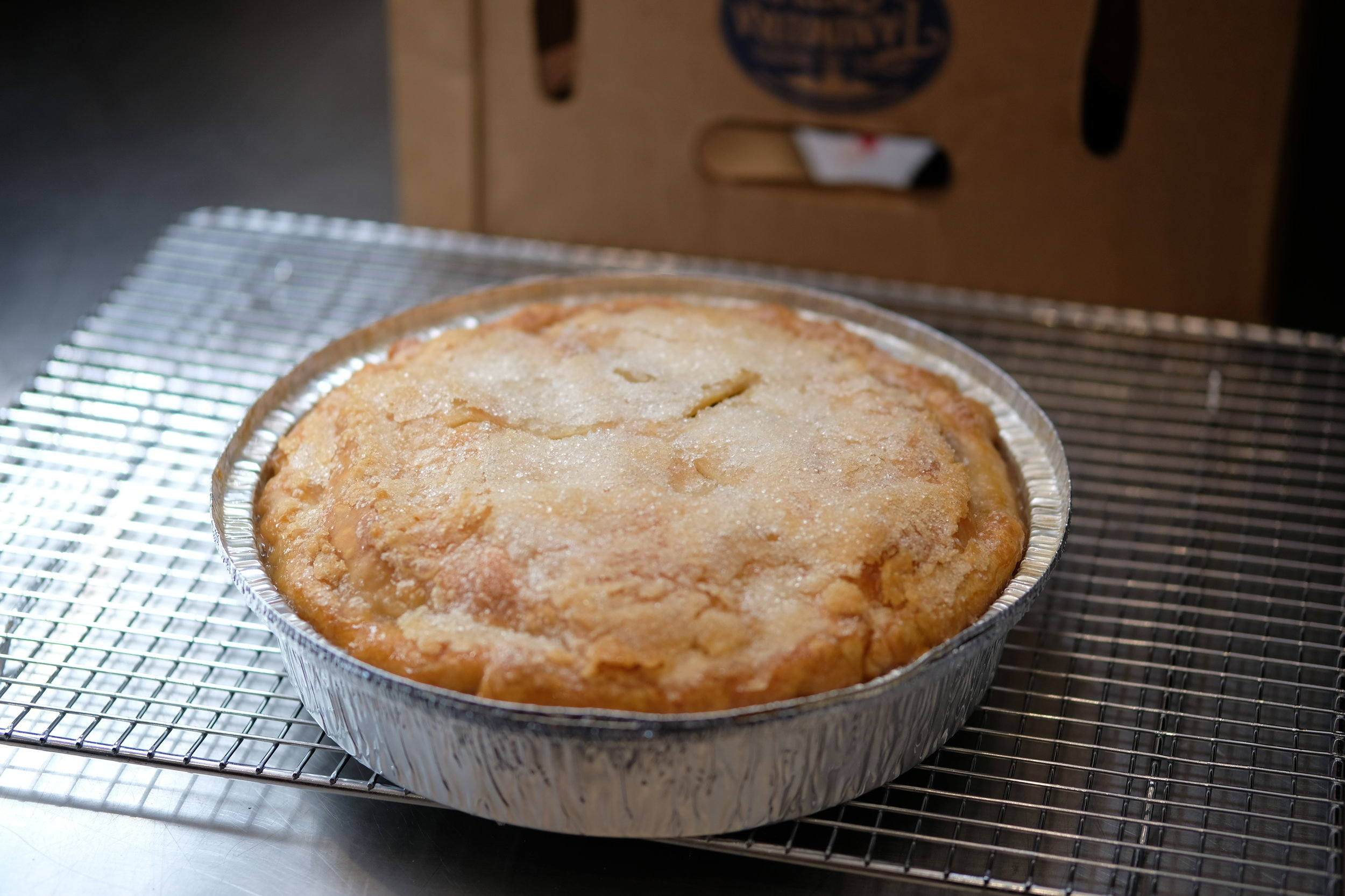 Fresh baked Pear Pie