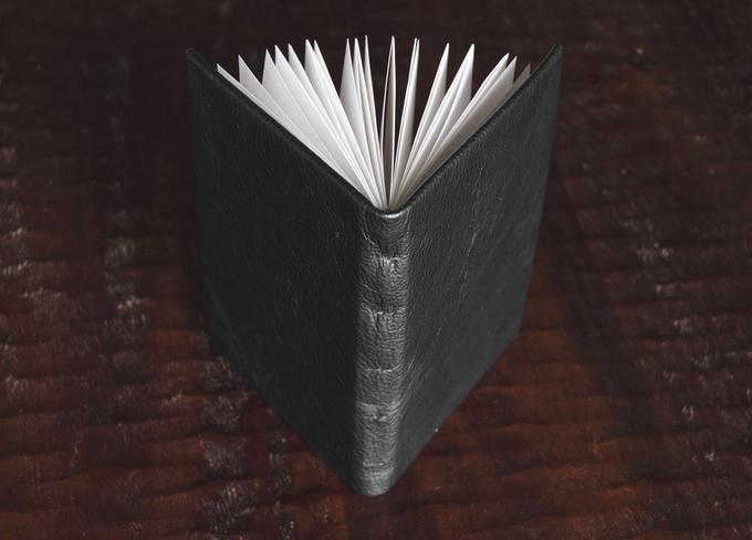 Kickstarter project. Leather journal. 2013.