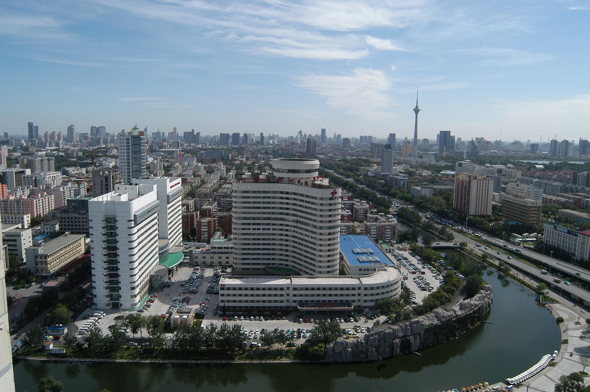 The Tianjin First Central Hospital.