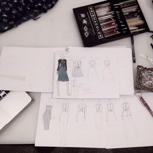 Progressing! #fynapparel #sketchbook #sketch #dresses #fashiondesign #fashion #inspirations #Inprogress