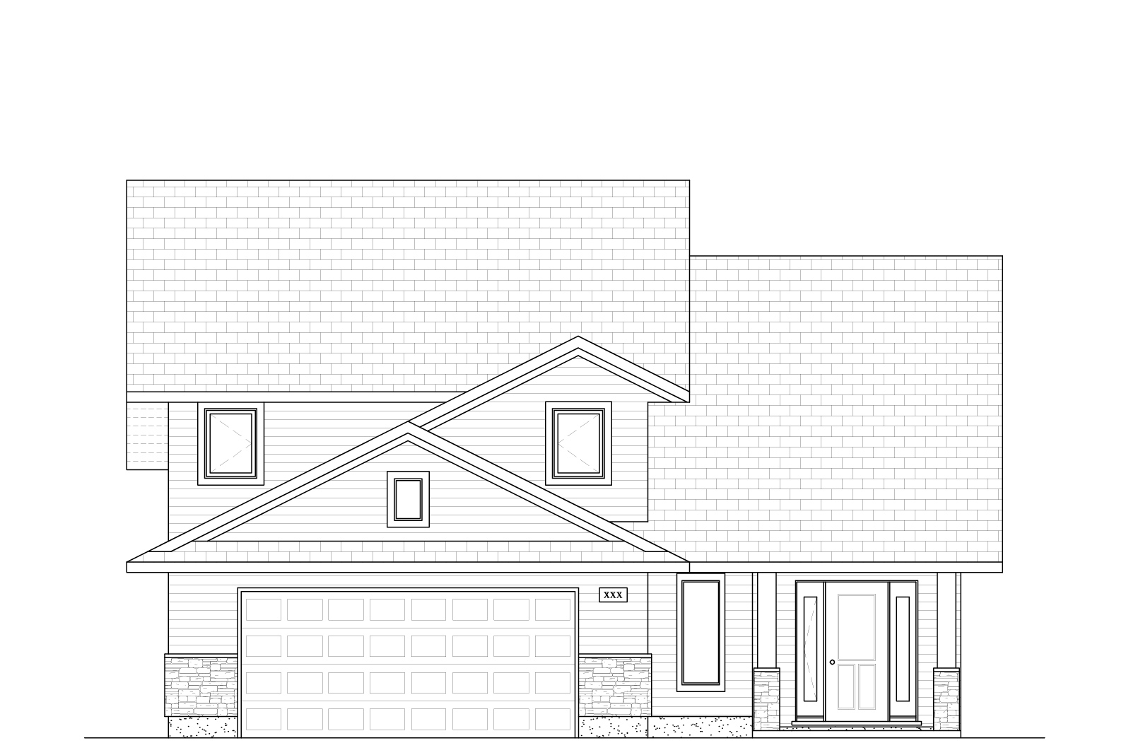 1442 Sq Ft.  38′ Wide  3 Bed /2 Bath