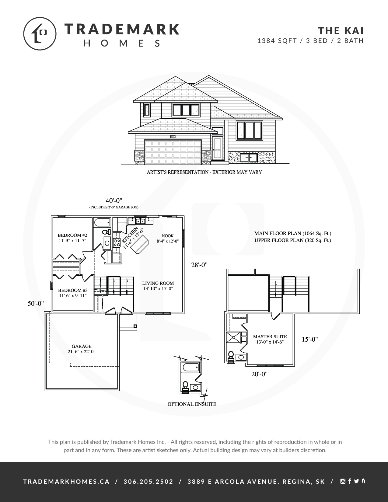 Trademark Homes The Kai Bi-Level