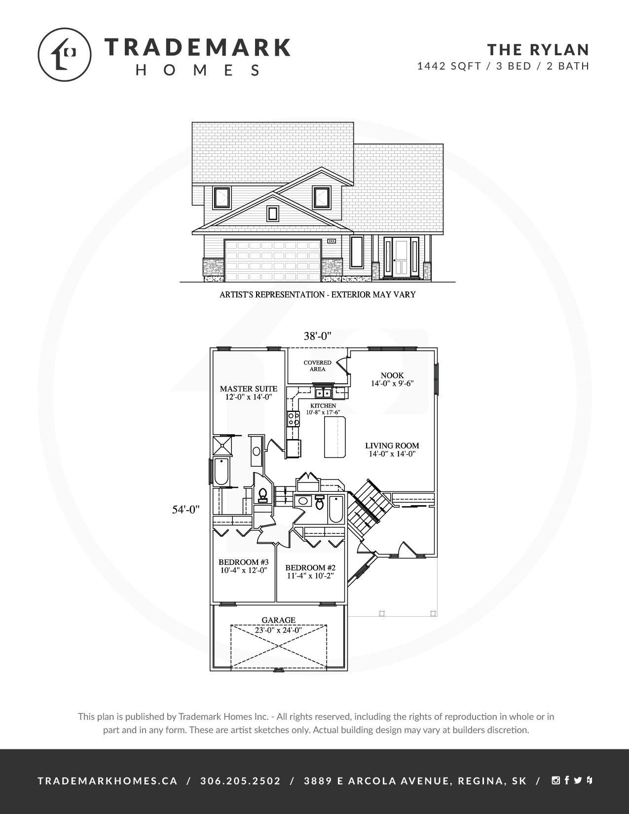 Trademark Homes The Rylan Bi-Level