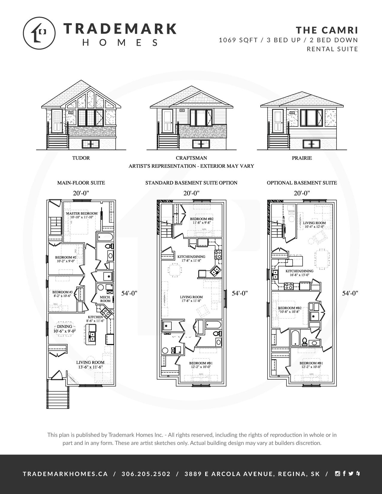 Trademark Homes The Camri Lane Lot