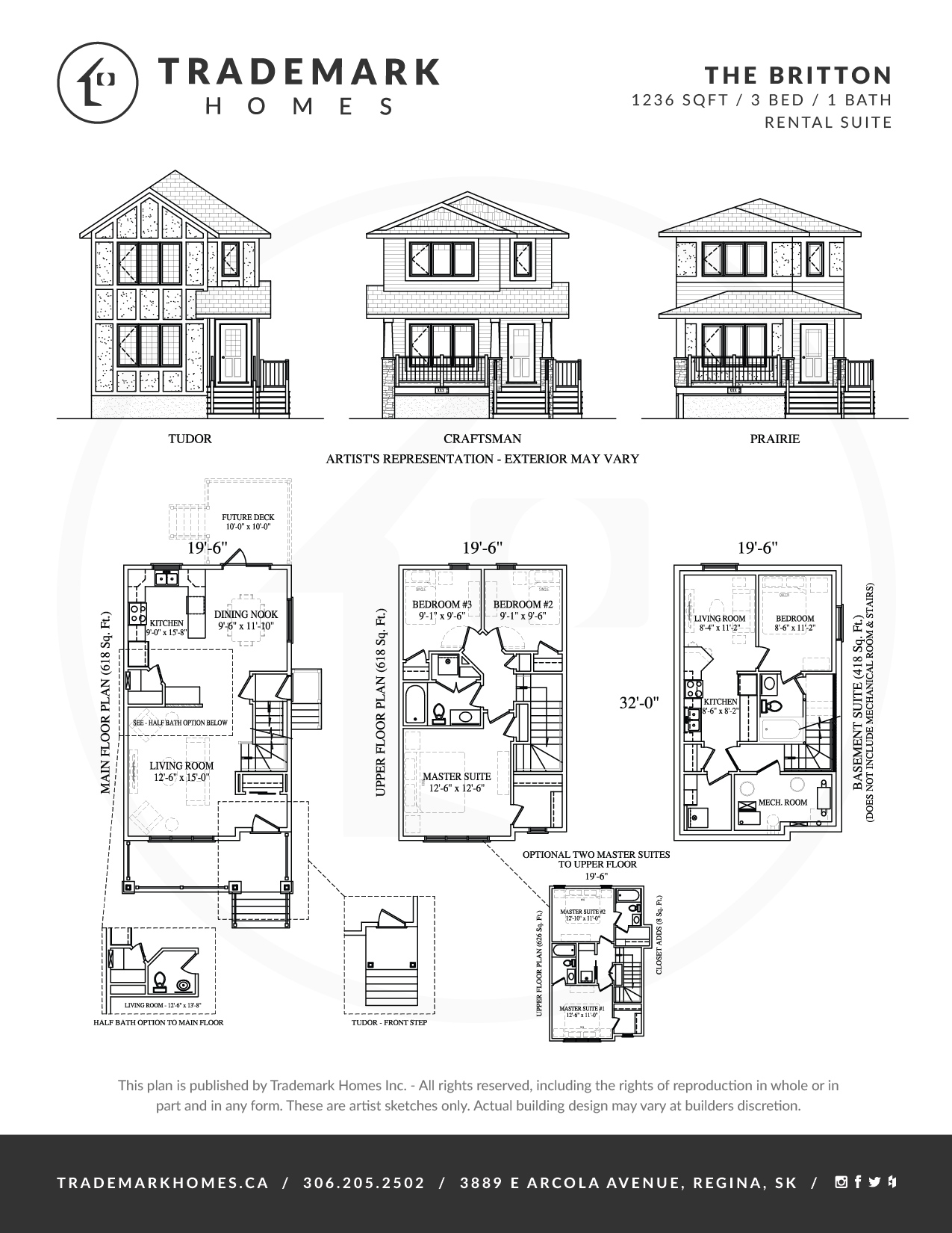 Trademark Homes The Britton Lane Lot