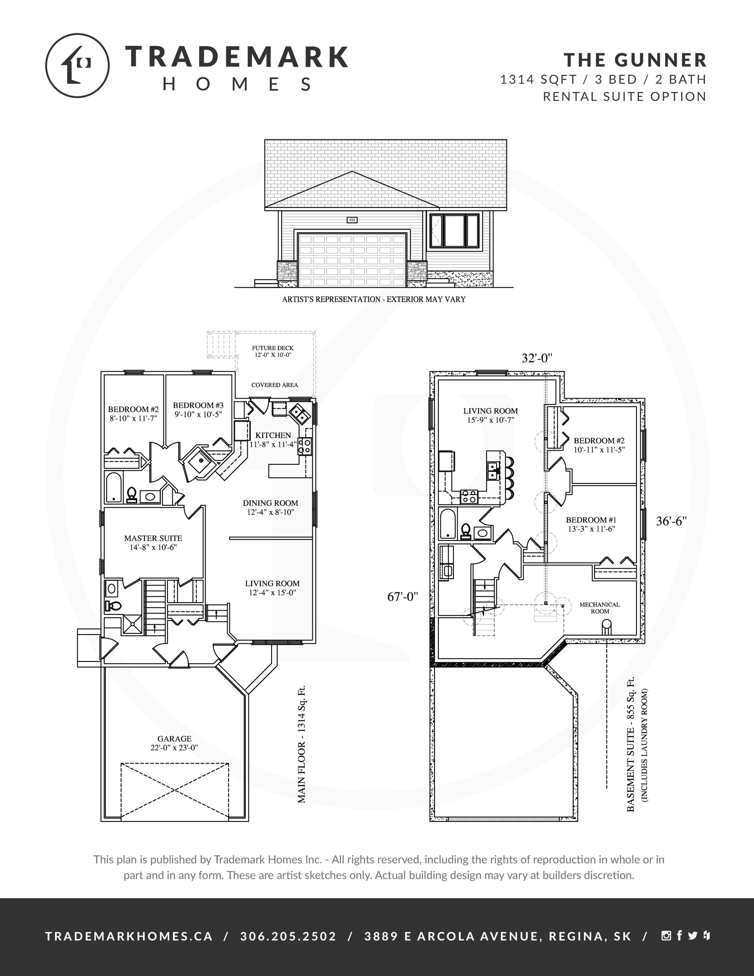 Trademark Homes The Aspen Bungalow