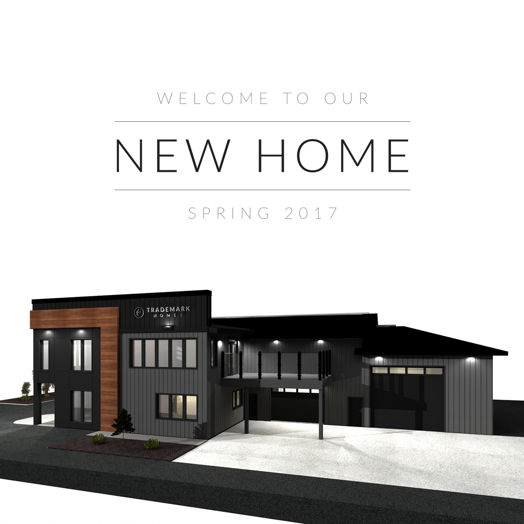 New Trademark Homes Office - Exterior