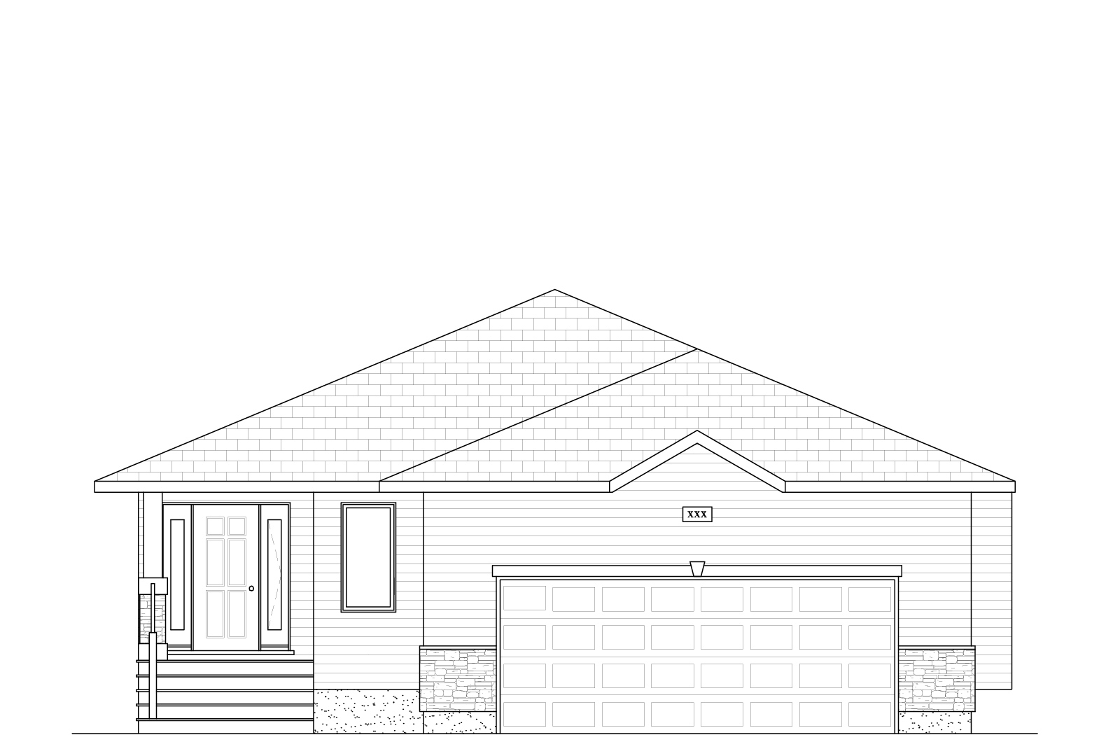 1429 Sq Ft.  38′ Wide  3 Bed / 2 Bath