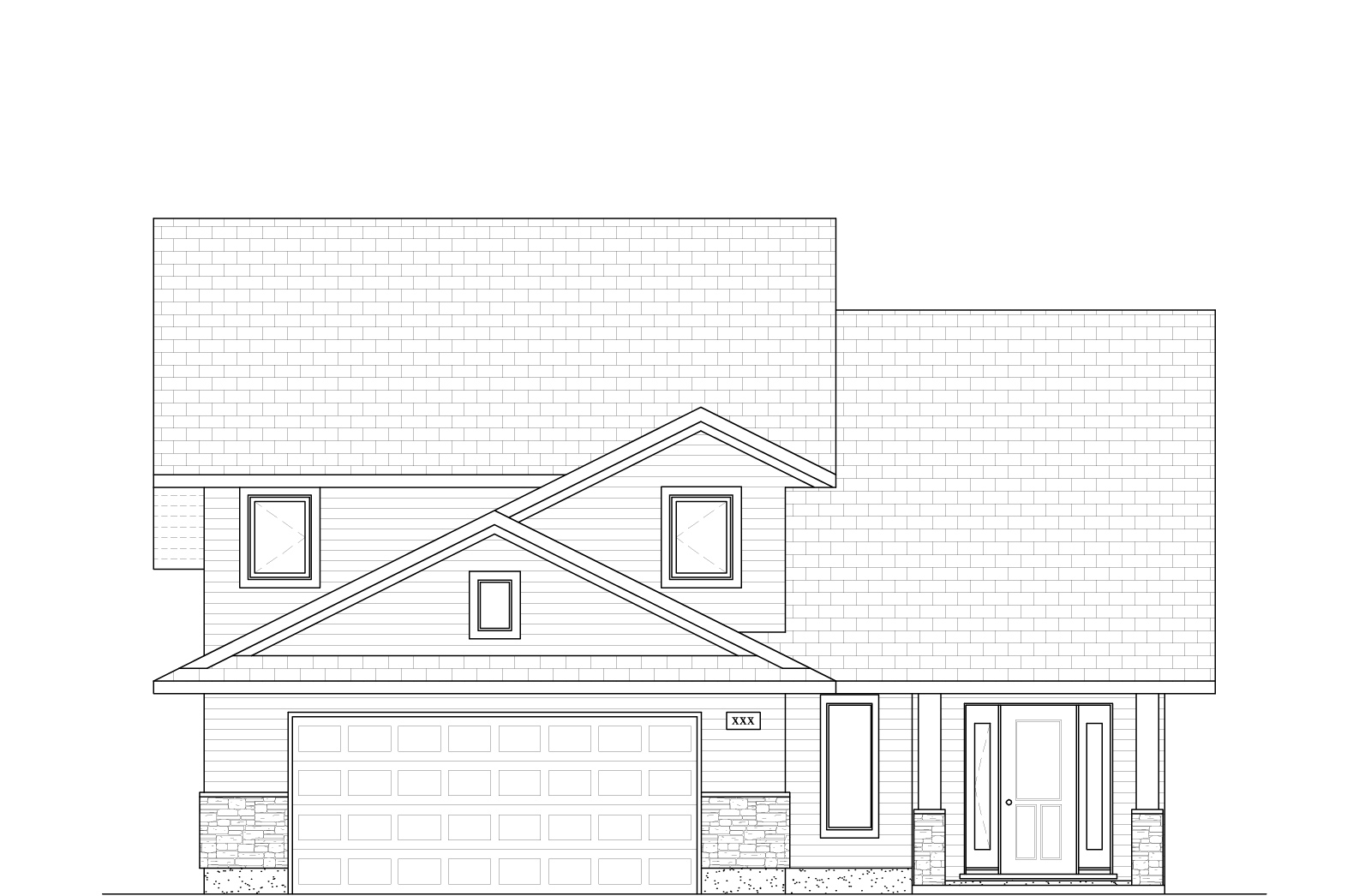 1442 Sq Ft.  38′ Wide  3 Bed / 2 Bath