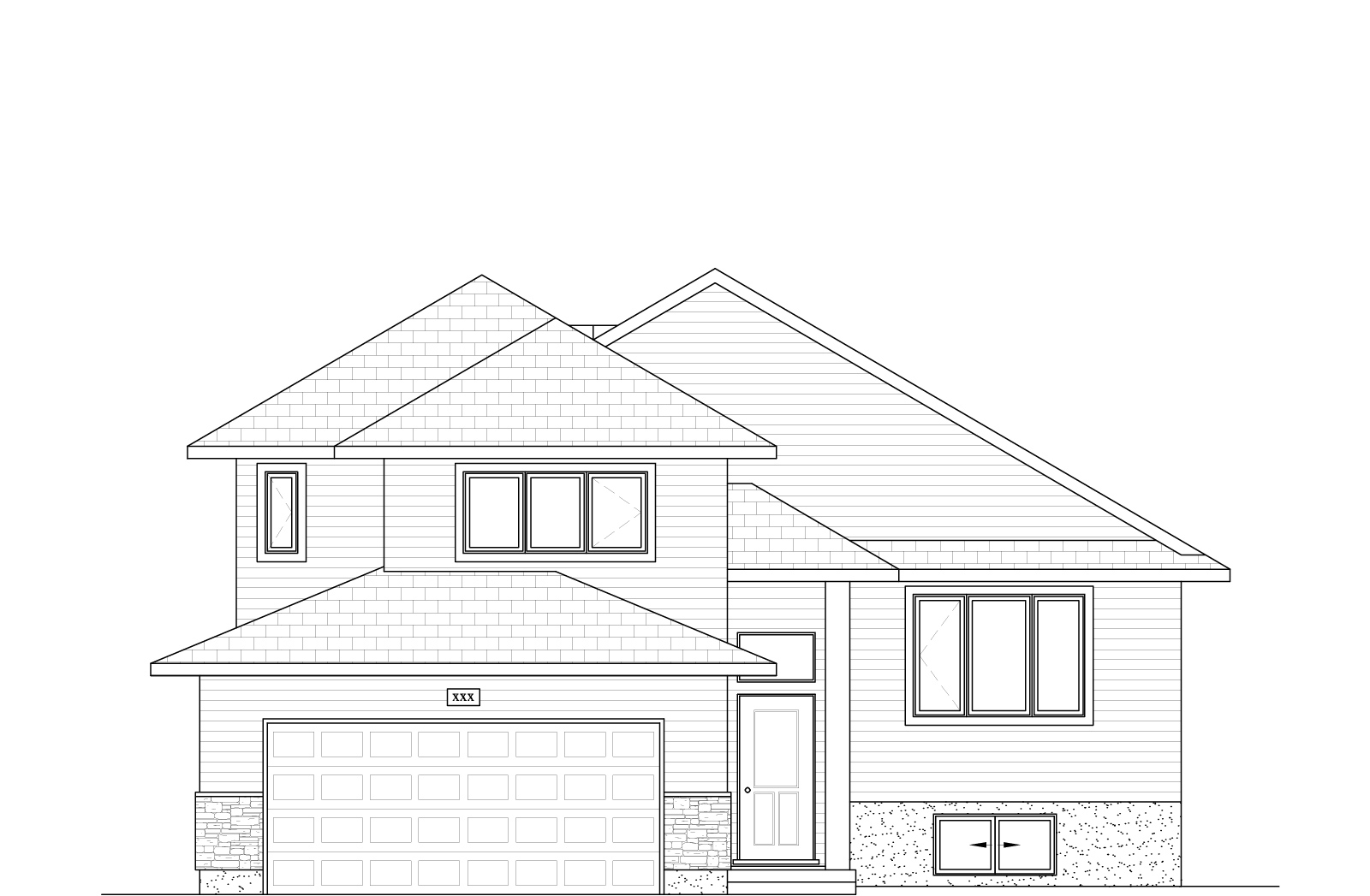 1300 Sq Ft.  30′ Wide  3 Bed / 2 Bath