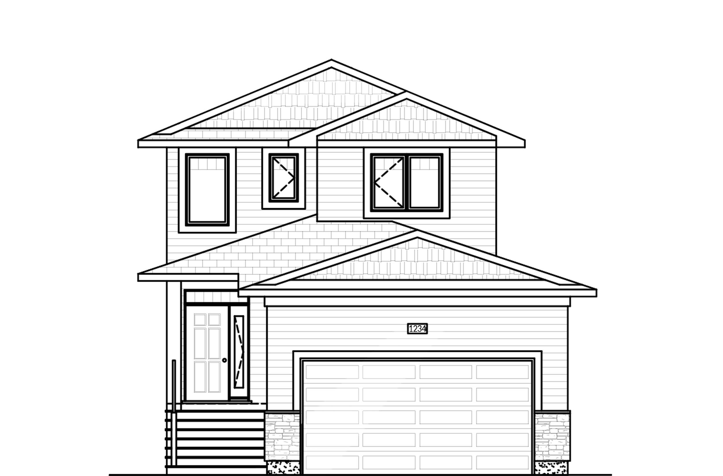 1432 Sq Ft.  28′ Wide  3 Bed / 2.5 Bath