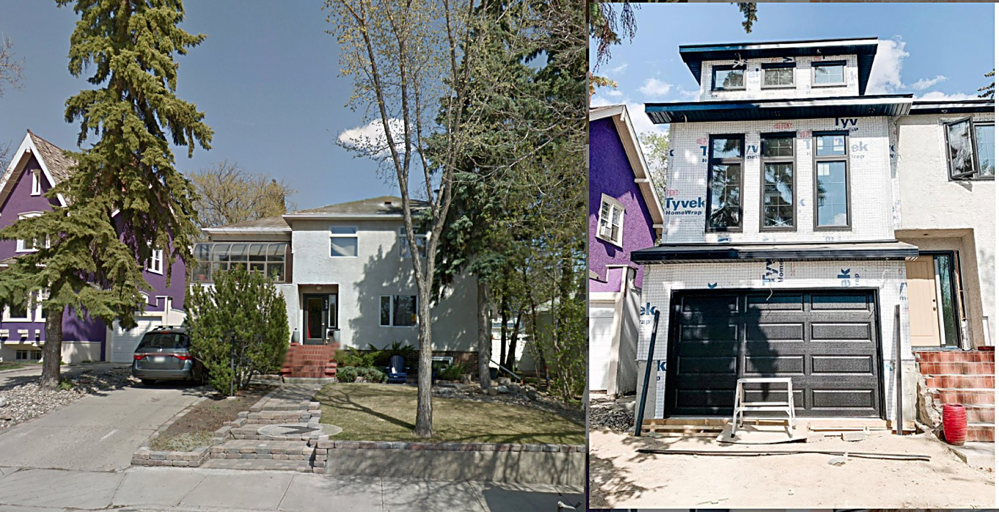 Before and After // Exterior