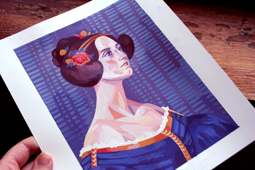 Ada Lovelace  detail