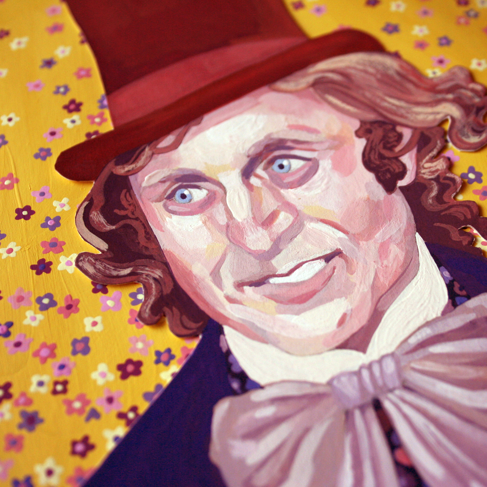 Gene Wilder as Willy Wonka  detail
